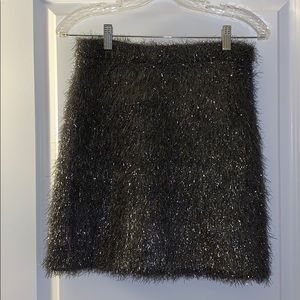 French Connection Tinsel High Waisted Mini Skirt